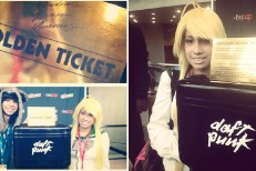 Daft Punk Golden Ticket @ NY ComicCon