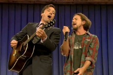 Eddie Vedder & Jimmy Fallon 2011
