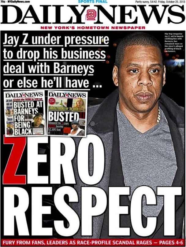 Jay Z Releases Statement About Barneys Racism Controversy