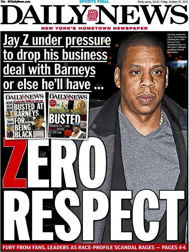 Jay-Z Barneys