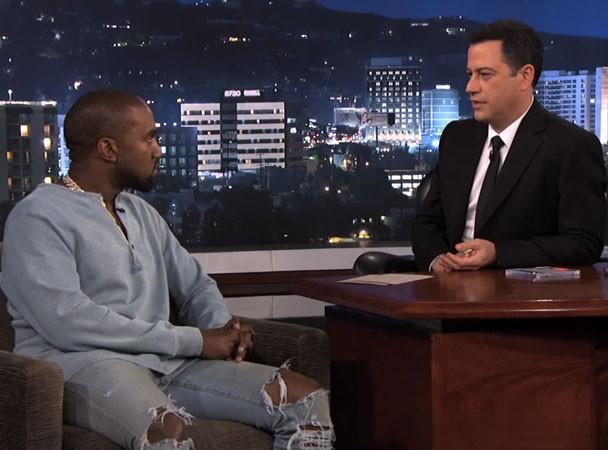 Kanye On Jimmy Kimmel 2013