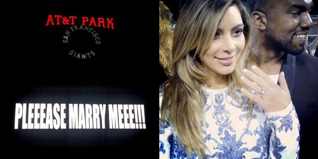 Kanye West / Kim Kardashian Engagement Ring