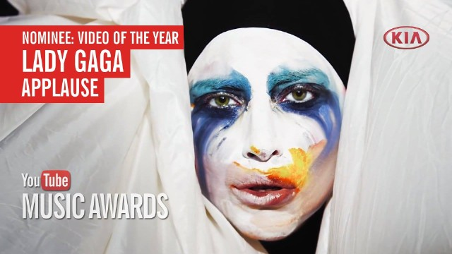 Lady Gaga YouTube Music Awards