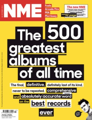 NME Top 500 Albums Of All Time