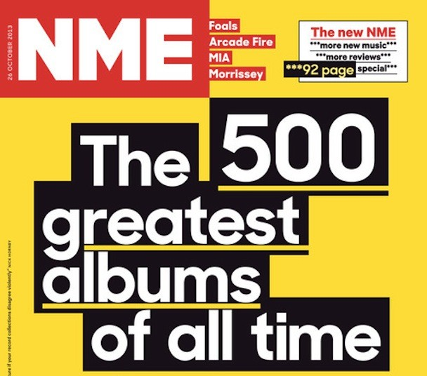 NME's Top 500 Albums Of All Time - Stereogum