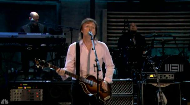 Watch Paul McCartney Play <em>Fallon</em>