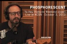 "Phosphorescent – ""Ya Hey"" (Vampire Weekend Cover)"