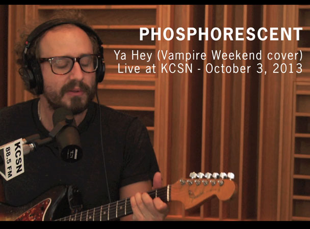 "Phosphorescent – ""Ya Hey"" (Vampire Weekend Cover)"