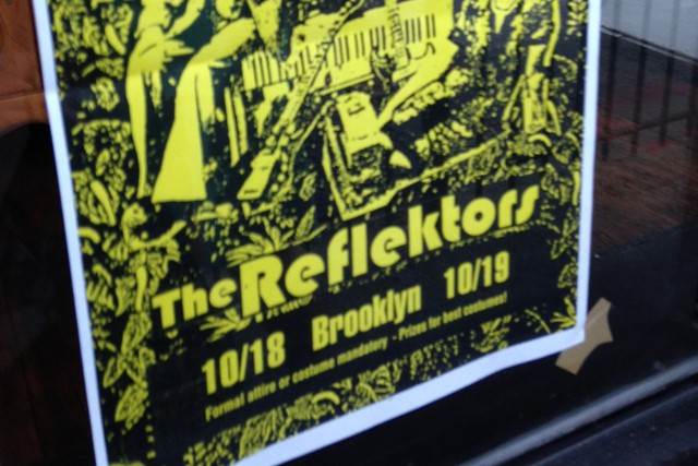 The Reflektors In Brooklyn