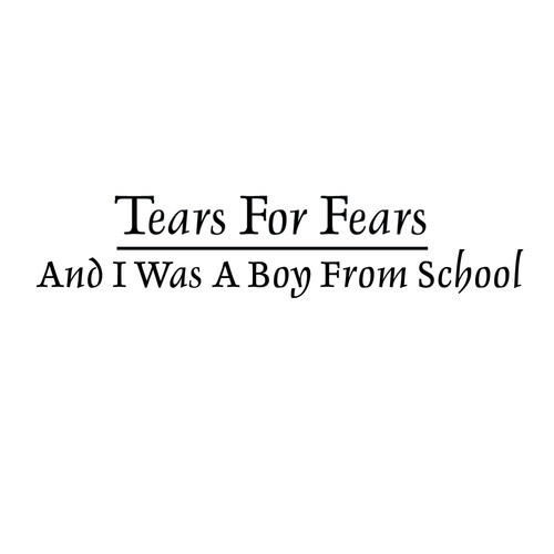 "Tears For Fears – ""Boy From School"" (Hot Chip Cover)"