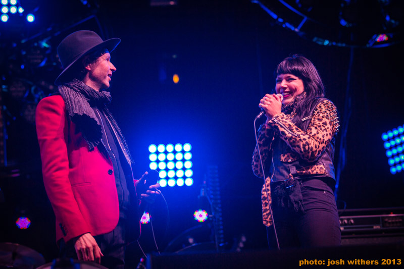 "Watch Beck & Sleigh Bells' Alexis Krauss Perform ""Let's Get Lost"" At Treasure Island"