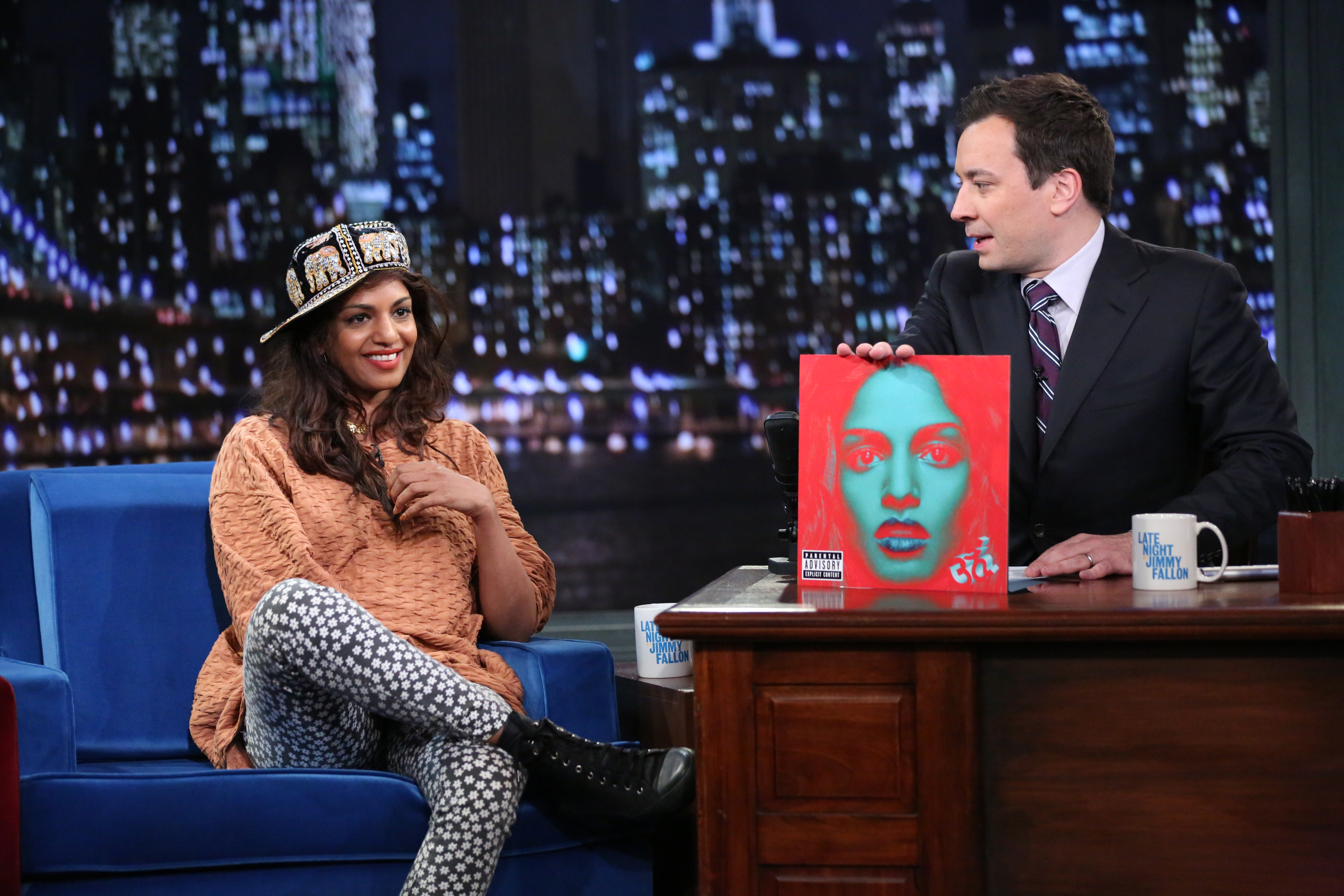 Watch M.I.A. Play With The Roots On <em>Fallon</em>
