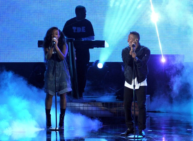 2013 American Music Awards - SZA and Kendrick Lamar