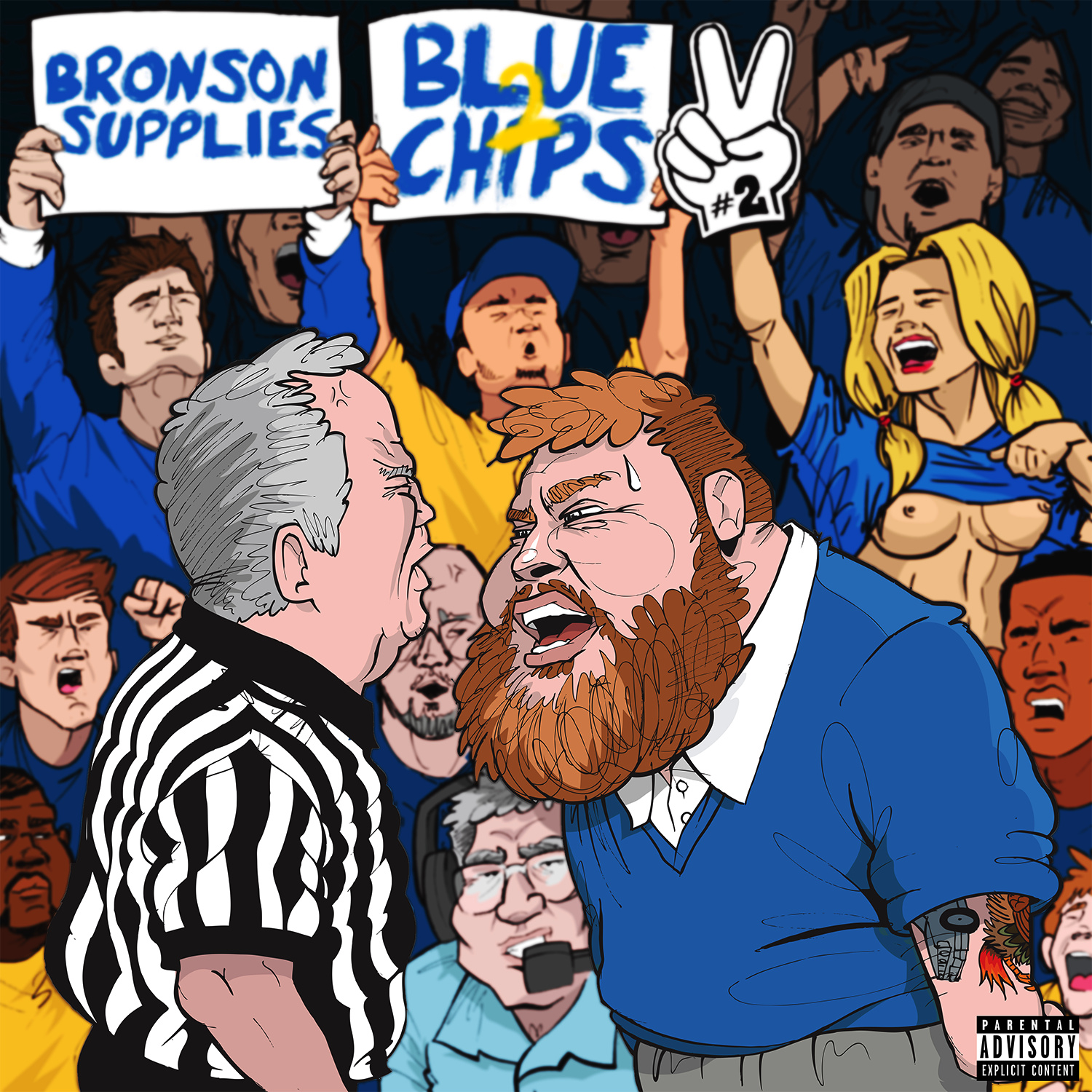 Mixtape Of The Week: Action Bronson &#038; Party Supplies <em>Blue Chips 2</em>