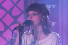 Chvrches on Kimmel