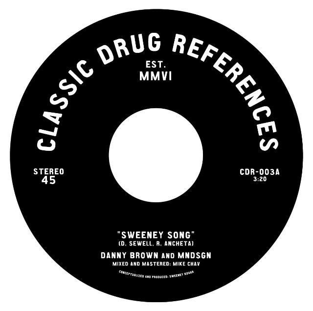 "Danny Brown & Mndsgn - ""Sweeney Song"""