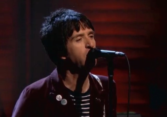 Johnny Marr on Conan