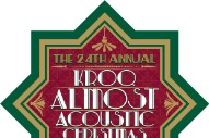 KROQ Almost Acoustic XMas 2013 Lineup