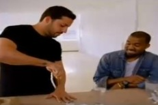 Watch Kanye West Pull An Icepick Out Of David Blaine's Hand