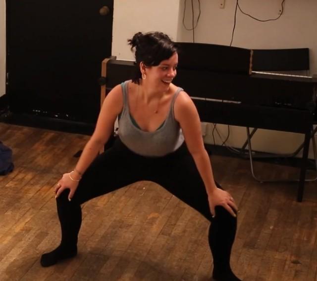 Lily Allen twerking