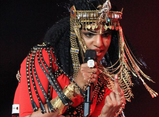 M.I.A. Says Her Super Bowl Middle Finger Was Actually A Godly Hand Gesture