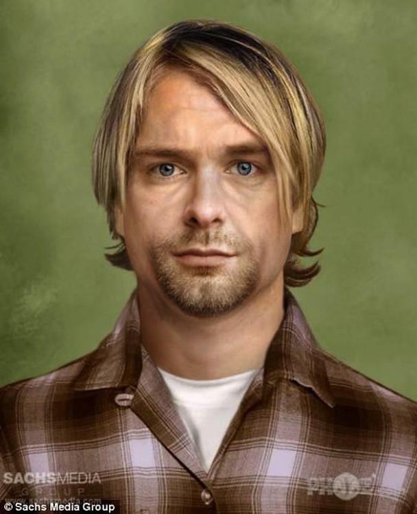 Old Kurt Cobain