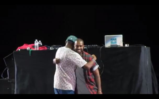 Watch Kanye's Surprise Performance At Odd Future Carnival '13