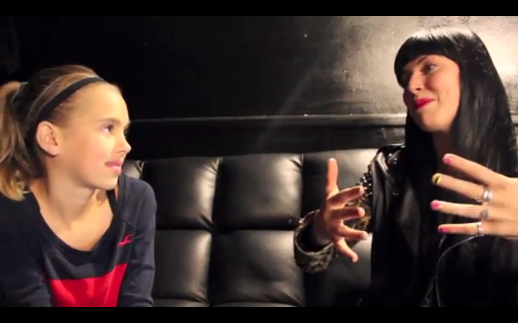 Watch A Kid Interview Sleigh Bells' Alexis Krauss
