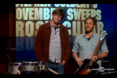 Watch The Black Keys Compete To Give Stephen Colbert A Prostate Exam