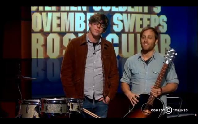 The Black Keys On The Colbert Report