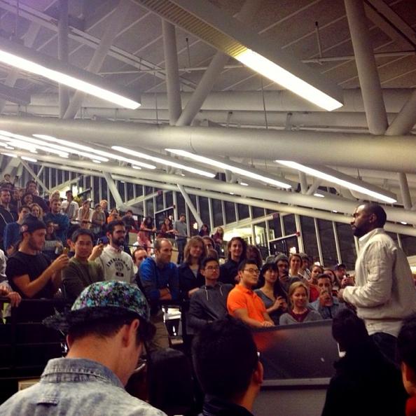 Kanye West @ Harvard
