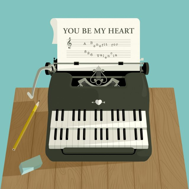 You Be My Heart Album Cover