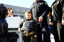 Make A Wish Foundation Grants 5 Year Old Miles' Wish To Be Batman