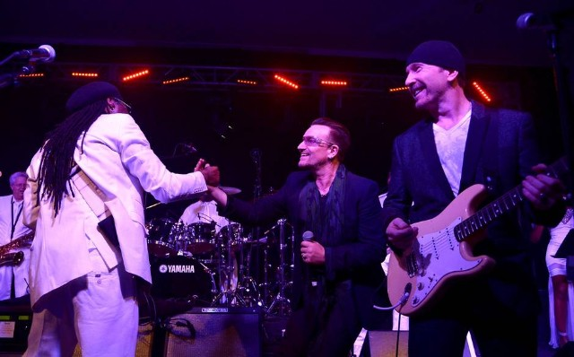 Bono, The Edge, & Nile Rodgers