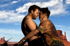 "Watch James Franco & Seth Rogen Recreate Kanye's ""Bound 2″ Video"