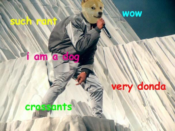 Kanye West Doge