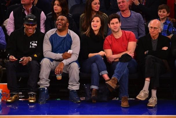 Celebrity Sightings In New York City - November 10, 2013