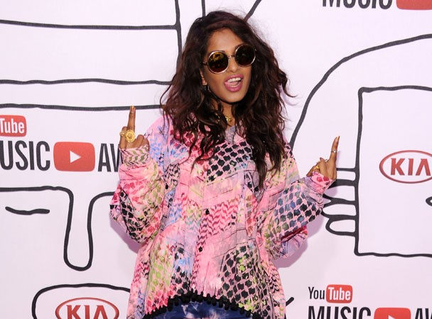 M.I.A. @ YouTube Music Awards 2013