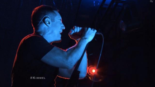 Nine Inch Nails On Kimmel