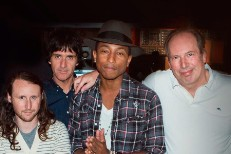 Johnny Marr, Pharrell, Hans Zimmer