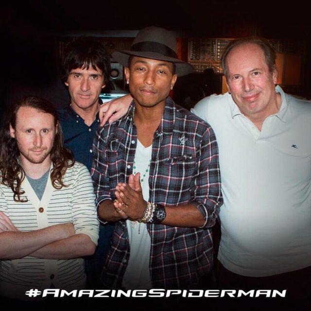 Johnny Marr, Pharrell, Hans Zimmer