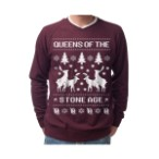 Ugly Christmas Sweaters From Queens Of The Stone Age, Metallica, Motörhead, And More