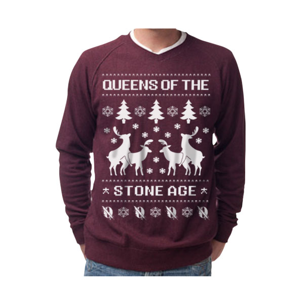 ugly christmas sweaters from queens of the stone age metallica - Black Metal Christmas Sweater