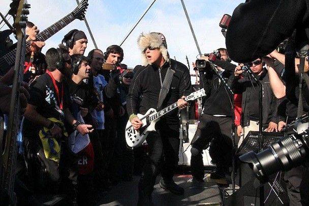 See Photos And Full Video Of Metallica's Antarctica Concert - Stereogum