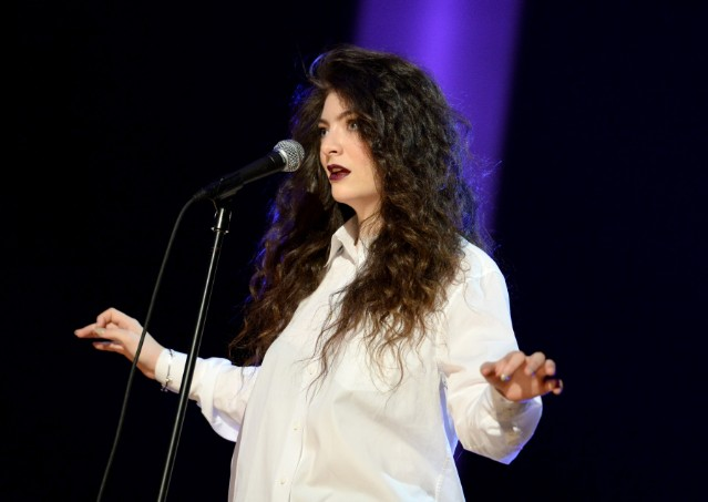 Lorde @ The GRAMMY Nominations Concert Live