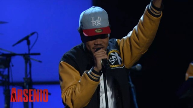 Chance The Rapper Arsenio