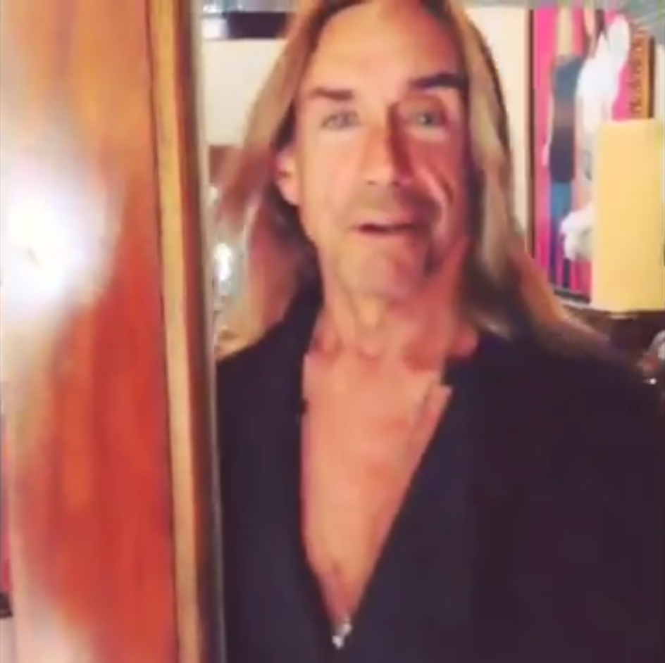 Merry Christmas From Iggy Pop