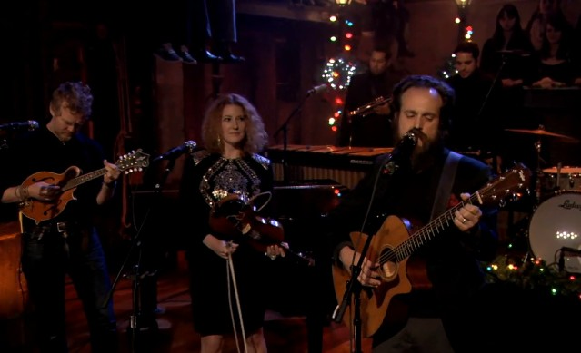 Iron And Wine on Fallon
