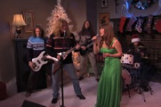 Watch Jenny Lewis In Jimmy Kimmel&#8217;s <em>A Very Megadeth Christmas</em> Sketch