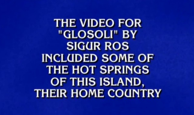 Can You Answer These Alt-Rock Jeopardy! Questions? - Stereogum